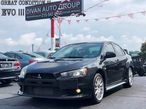 2011 Mitsubishi Lancer Evolution for sale at Divan Auto Group in Feasterville PA