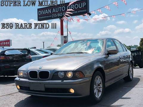 2003 BMW 5 Series for sale at Divan Auto Group in Feasterville PA