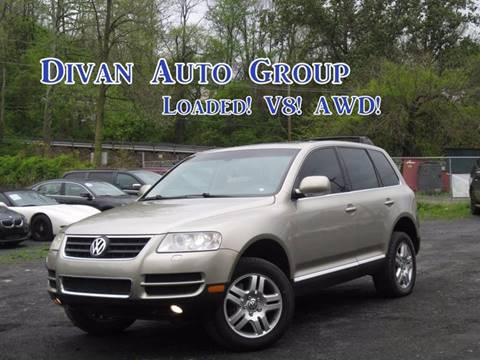 2004 Volkswagen Touareg for sale at Divan Auto Group in Feasterville Trevose PA