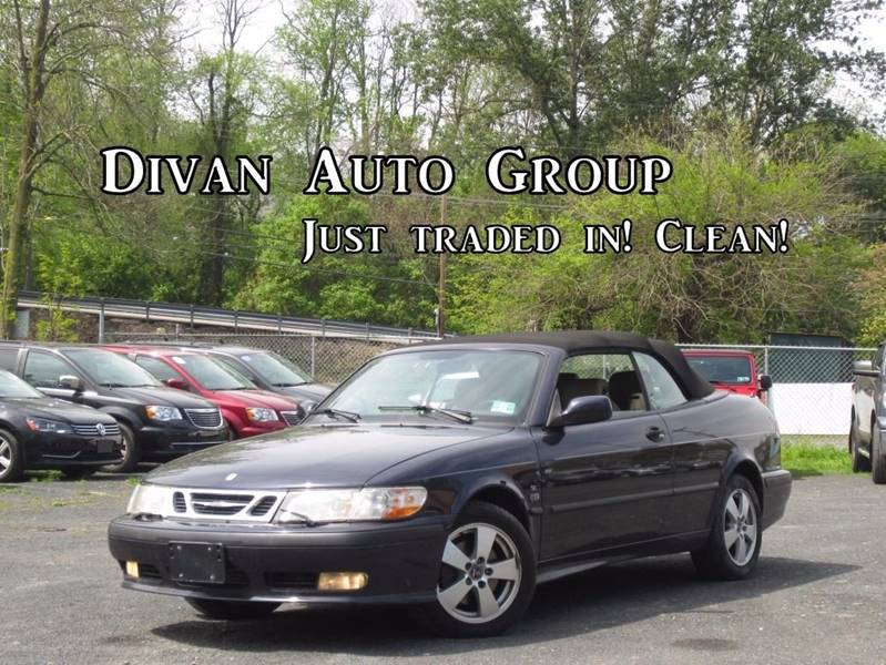 2002 Saab 9-3 for sale at Divan Auto Group in Feasterville Trevose PA
