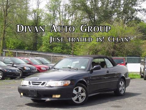 2002 Saab 9-3 for sale at Divan Auto Group in Feasterville PA