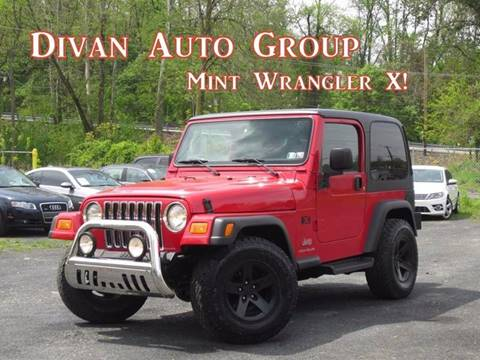 2006 Jeep Wrangler for sale at Divan Auto Group in Feasterville PA