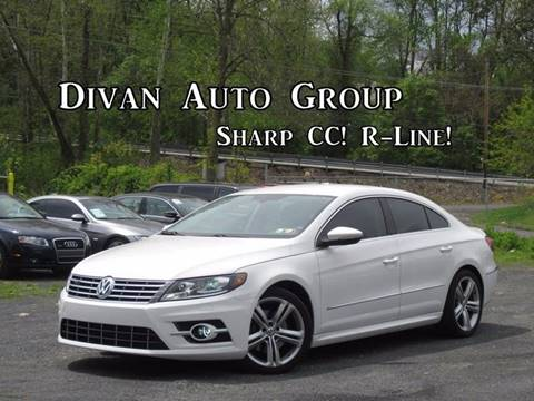 2013 Volkswagen CC for sale at Divan Auto Group in Feasterville PA