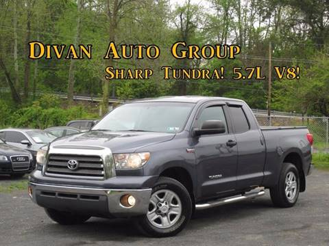 2008 Toyota Tundra for sale at Divan Auto Group in Feasterville PA