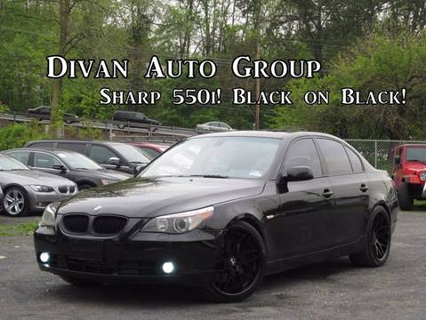 2006 BMW 5 Series for sale at Divan Auto Group in Feasterville PA