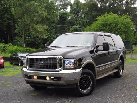 2001 Ford Excursion for sale at Divan Auto Group in Feasterville PA