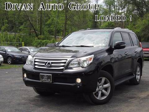 2010 Lexus GX 460 for sale at Divan Auto Group in Feasterville PA