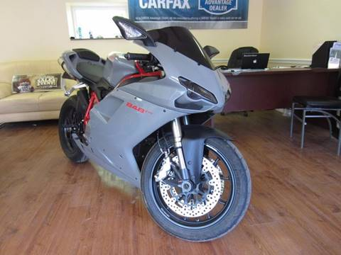 2012 Ducati 848 evo  for sale at Divan Auto Group in Feasterville PA
