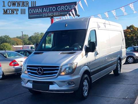 2016 Mercedes-Benz Sprinter Cargo for sale in Feasterville, PA
