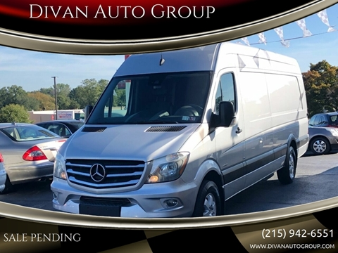 2016 Mercedes-Benz Sprinter Cargo for sale at Divan Auto Group in Feasterville PA