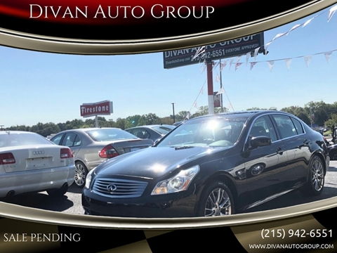2008 Infiniti G35 for sale at Divan Auto Group in Feasterville PA