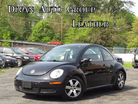 2010 Volkswagen New Beetle for sale at Divan Auto Group in Feasterville PA