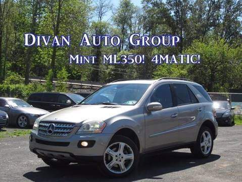 2006 Mercedes-Benz M-Class for sale at Divan Auto Group in Feasterville PA