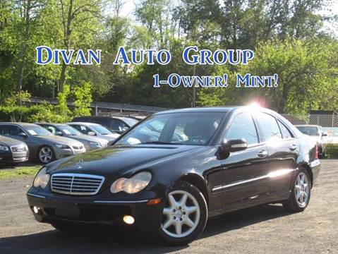 2001 Mercedes-Benz C-Class for sale at Divan Auto Group in Feasterville PA