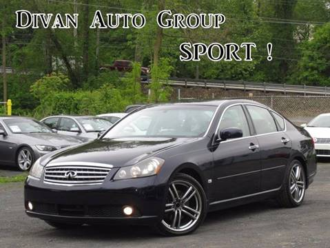 2007 Infiniti M45 for sale at Divan Auto Group in Feasterville PA