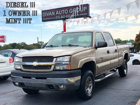 2004 Chevrolet Silverado 2500HD for sale at Divan Auto Group in Feasterville PA