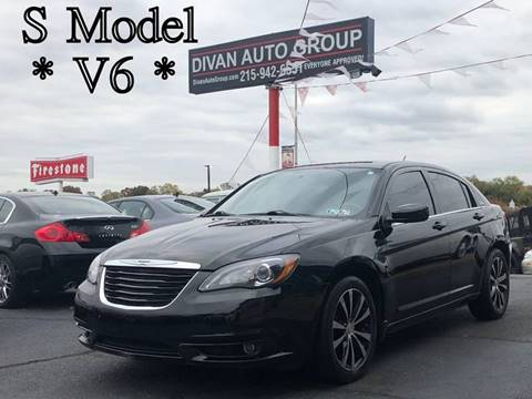 2012 Chrysler 200 for sale in Feasterville, PA