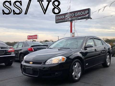 2008 Chevrolet Impala for sale at Divan Auto Group in Feasterville PA