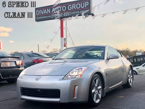 2003 Nissan 350Z for sale at Divan Auto Group in Feasterville PA