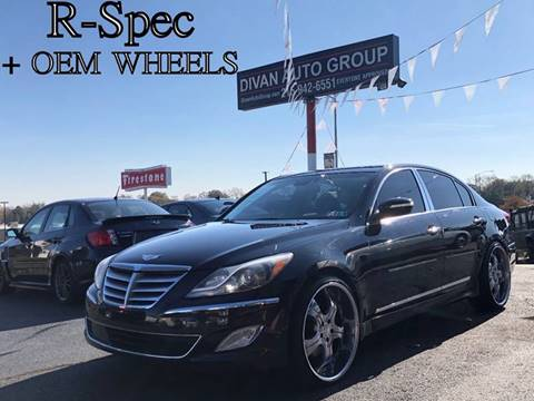 2012 Hyundai Genesis for sale at Divan Auto Group in Feasterville PA