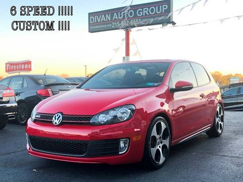 2012 Volkswagen GTI for sale at Divan Auto Group in Feasterville PA