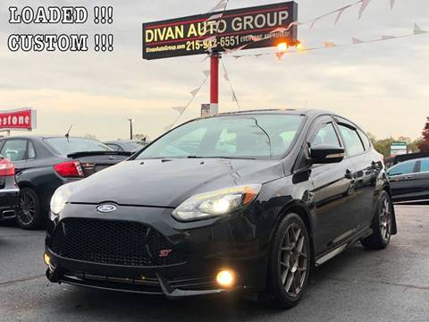 2014 Ford Focus for sale at Divan Auto Group in Feasterville PA