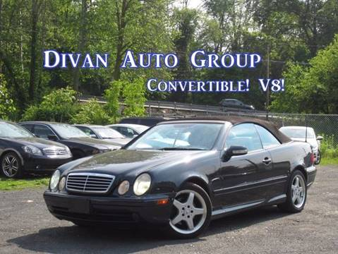 2003 Mercedes-Benz CLK for sale at Divan Auto Group in Feasterville Trevose PA