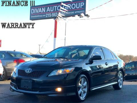 2007 Toyota Camry for sale at Divan Auto Group in Feasterville PA
