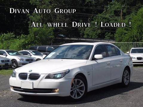 2009 BMW 5 Series for sale at Divan Auto Group in Feasterville PA