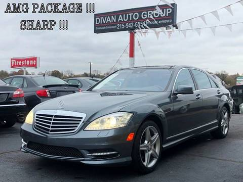 2010 Mercedes-Benz S-Class for sale at Divan Auto Group in Feasterville PA