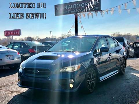 2015 Subaru WRX for sale at Divan Auto Group in Feasterville PA