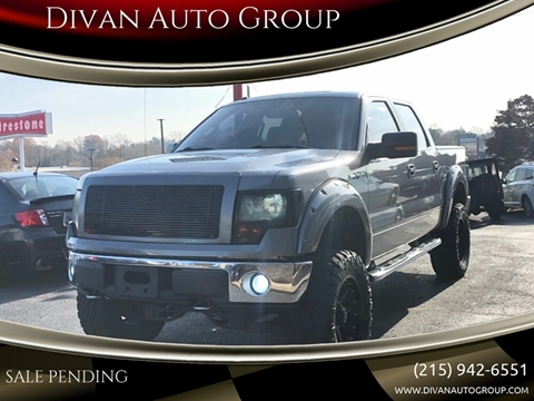 2011 Ford F-150 for sale at Divan Auto Group in Feasterville PA