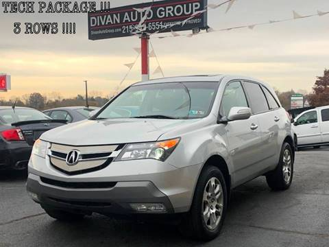 2009 Acura MDX for sale at Divan Auto Group in Feasterville PA