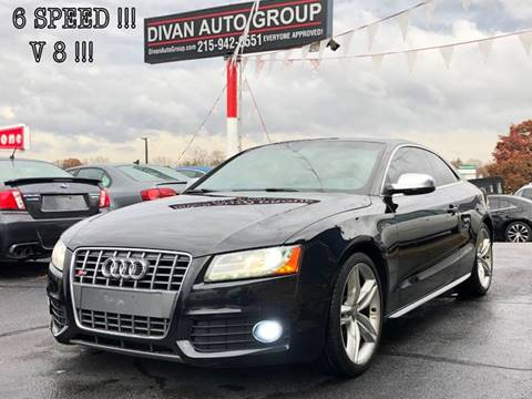 2010 Audi S5 for sale at Divan Auto Group in Feasterville PA