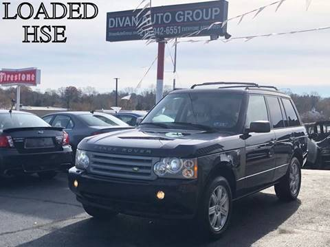 2008 Land Rover Range Rover for sale at Divan Auto Group in Feasterville PA