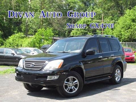 2009 Lexus GX 470 for sale at Divan Auto Group in Feasterville PA