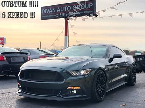2016 Ford Mustang for sale at Divan Auto Group in Feasterville PA