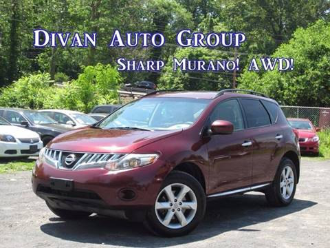 2009 Nissan Murano for sale at Divan Auto Group in Feasterville PA