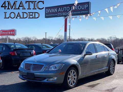 2008 Mercedes-Benz S-Class for sale at Divan Auto Group in Feasterville PA