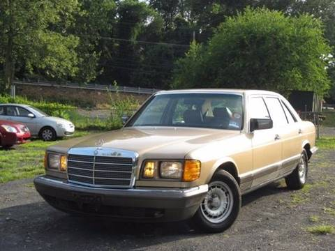 1984 Mercedes-Benz 500-Class for sale at Divan Auto Group in Feasterville PA