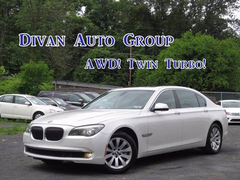 2011 BMW 7 Series for sale at Divan Auto Group in Feasterville PA