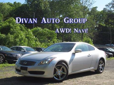 2009 Infiniti G37 Coupe for sale at Divan Auto Group in Feasterville PA