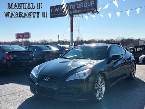 2010 Hyundai Genesis Coupe for sale at Divan Auto Group in Feasterville PA