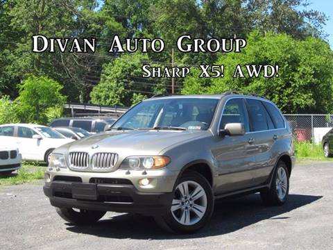 2004 BMW X5 for sale at Divan Auto Group in Feasterville PA