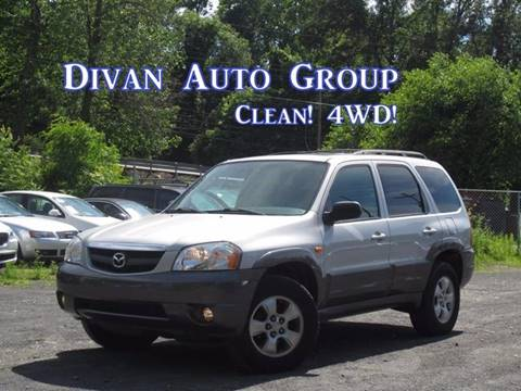 2004 Mazda Tribute for sale at Divan Auto Group in Feasterville PA