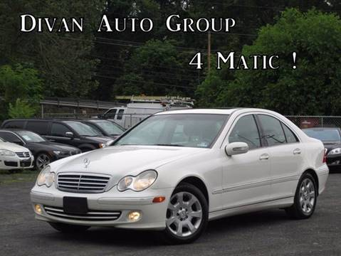 2005 Mercedes-Benz C-Class for sale at Divan Auto Group in Feasterville PA