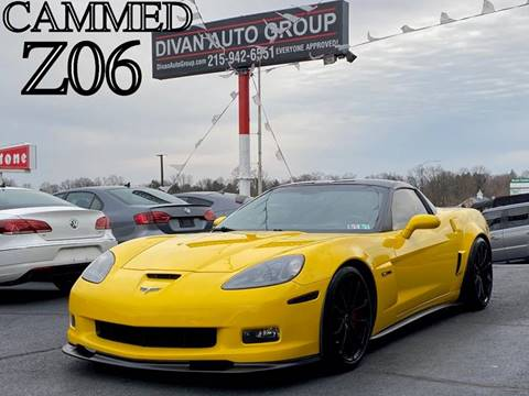 2008 Chevrolet Corvette for sale at Divan Auto Group in Feasterville PA
