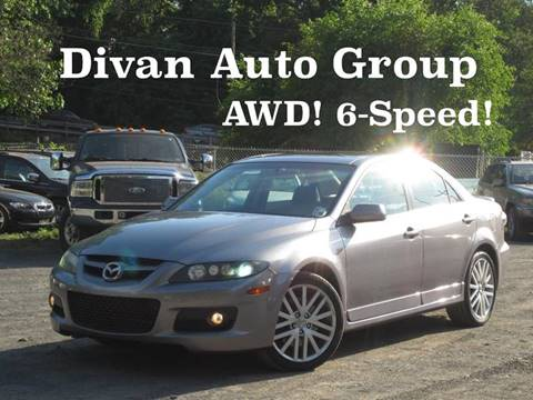2007 Mazda MAZDASPEED6 for sale at Divan Auto Group in Feasterville PA