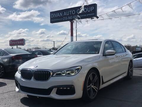 2016 BMW 7 Series for sale at Divan Auto Group in Feasterville PA