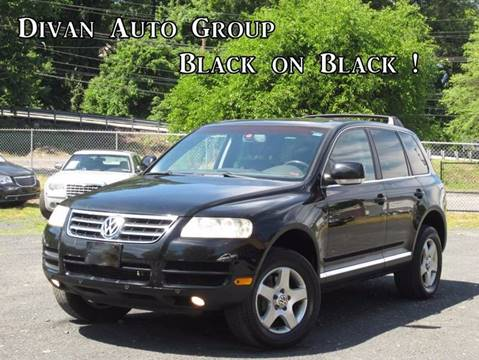 2005 Volkswagen Touareg for sale at Divan Auto Group in Feasterville Trevose PA